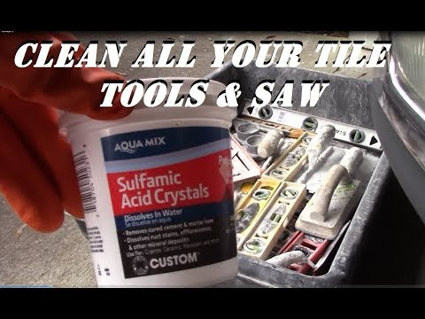 CLEAN YOUR TOOLS !