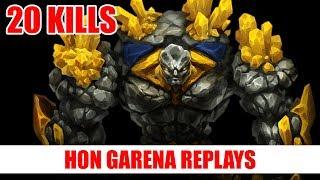 HoN Pro Pebbles Gameplay | Fallen`One | Immortal Rank
