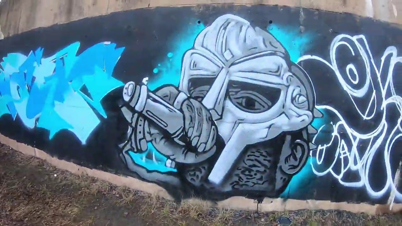 Graffiti - Ghost EA - MF Doom Tribute
