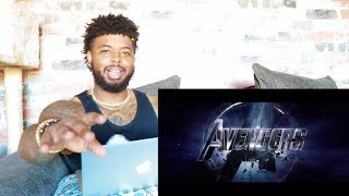 Marvel Studios' Avengers Endgame - Official Trailer | Reaction