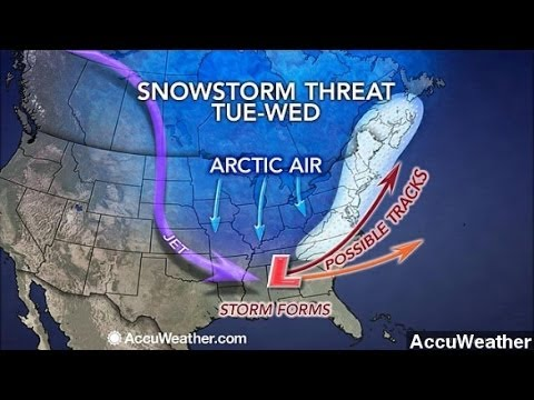Forecasters Predict Potential 'Nor'easter Bomb'