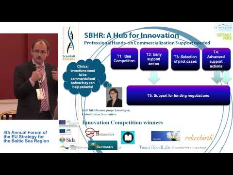 "WOLFGANG BLANK - ""ScanBalt Health Region (SBHR) Health Economy in the Baltic Sea Region"" [EN]"