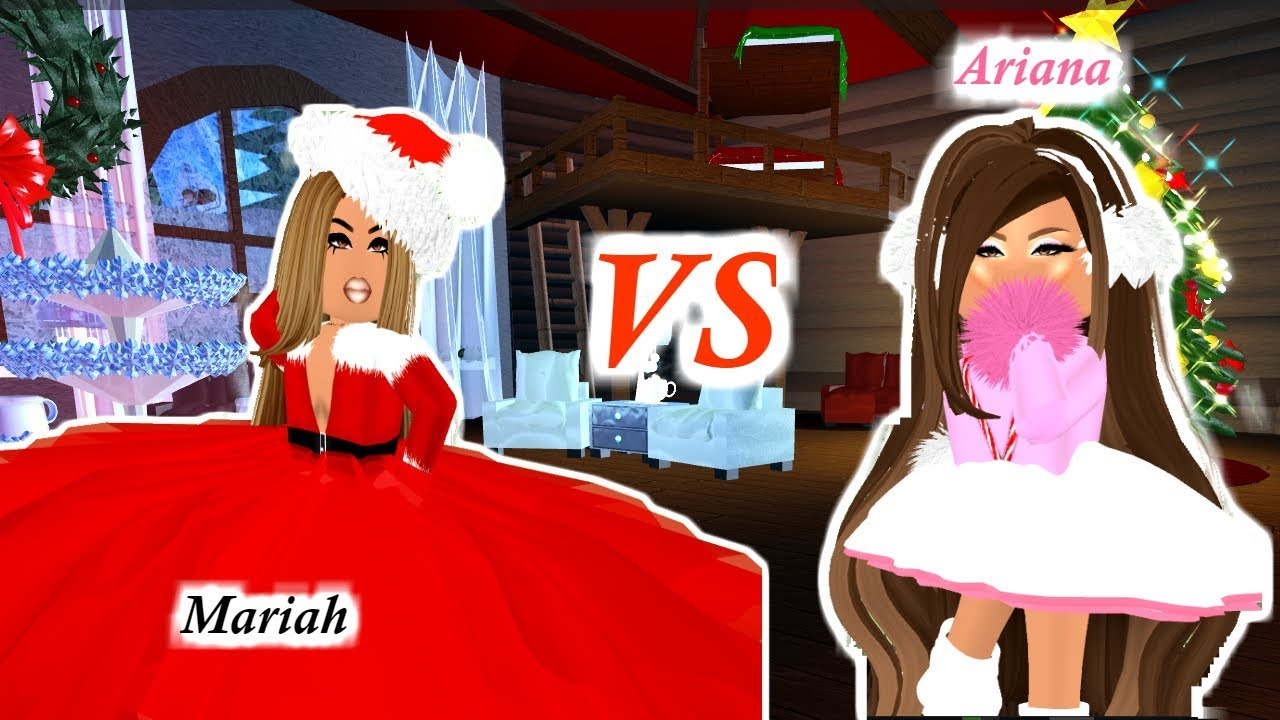 Ariana Grande Mariah Carey Compete For Most Popular In Royale