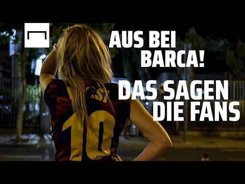 Messi verlässt den FC Barcelona! Schockierte Fans versammeln sich vor dem Camp Nou