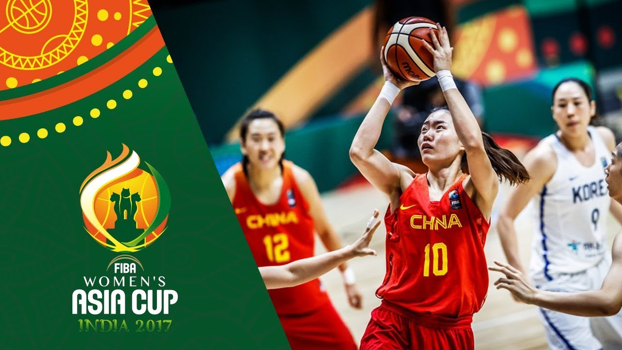 Korea v China - Highlights - 3rd Place - FIBA Women's Asia Cup 2017