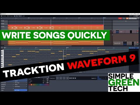 Tracktion Waveform 9 Pattern Generator Tutorial