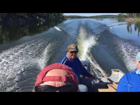 Fishing The Churchill River Systems, Saskatchewan, Canada