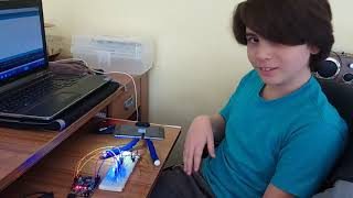 Gambar cover Otomatik Aydınlatma (David) Antalya Robotik ve Kodlama Arduino