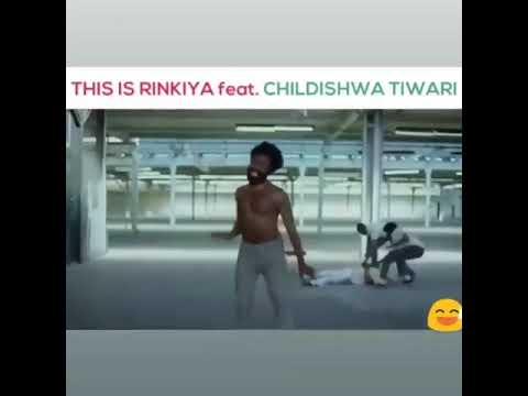 Rinkiya Ke Papa || Hi Hi Hi Has Deli || Monoj Tiwari || Childish Gambino Funny Dance ||