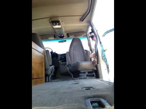 Astro Van Bench Seat