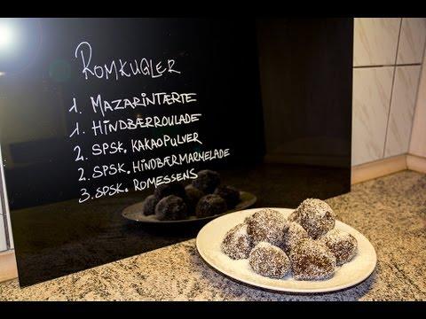 Hjemmelavet romkugler - de bedste / How to make Danish pastry ...