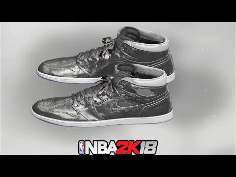 NBA 2K18 Shoe Creator ⋆#NBA2K18⋆ Jordan 1 Metallic Zinc