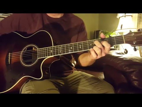 How to play Happiness by NEEDTOBREATHE on Guitar