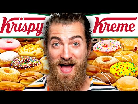 We Tried EVERY Krispy Kreme Donut Flavor