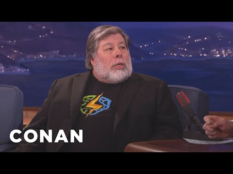 Steve Wozniak On Apple's Battle With The FBI  - CONAN on TBS