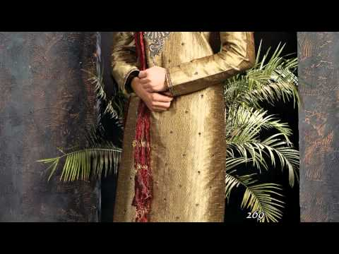 Rajveer Collection Men's Sherwani Silk India