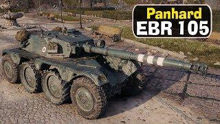 PANHARD EBR105  - НАГИБАЕТ В РУКАХ РАКА? World Of Tanks