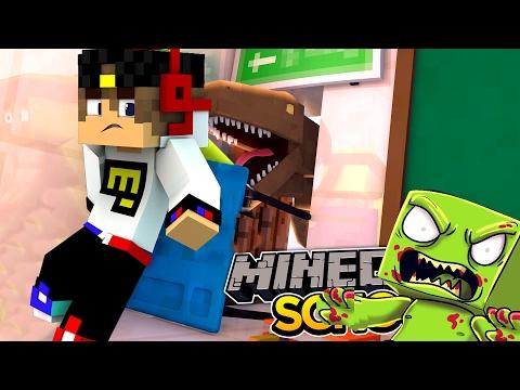 ДИНОЗАВРЫ ПРОТИВ ЗОМБИ ВЫЖИВАНИЕ! МИР ДЕТЕЙ В МАЙНКРАФТЕ ЗОМБИ АПОКАЛИПСИС МАЙНКРАФТ! МОДЫ MINECRAFT - Видео из Майнкрафт (Minecraft)