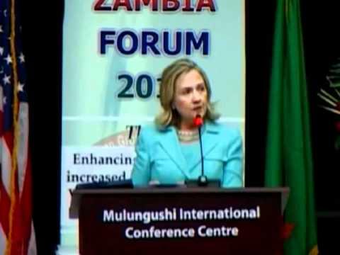 Secretary Clinton Delivers Remarks at AGOA Forum