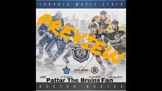 Boston Bruins vs Toronto Maple Leafs - Series Preview