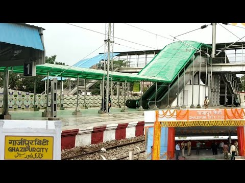 Ghazipur City Railway station Overview