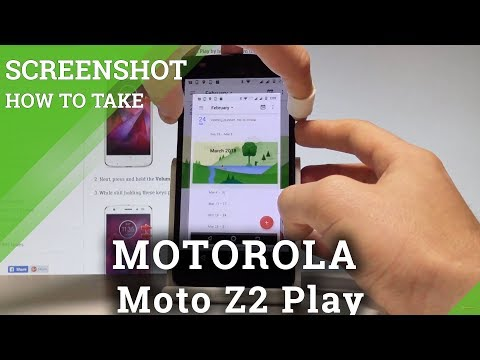 How To Take Screenshot In MOTOROLA Moto Z2 Play |HardReset.info