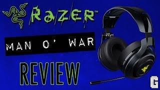 Razer Man O' War Wireless Gaming Headset REVIEW : ILLUMINATED BEAST!