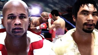 fight night champion floyd mayweather jr vs manny pacquiao who will win this fight