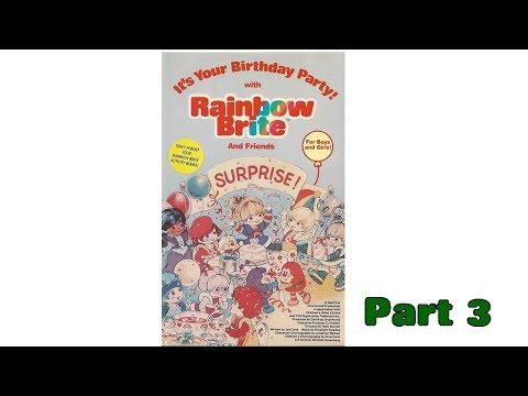 Rainbow Brite  It's Your Birthday Party! Part 3