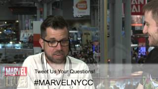 Phil Noto Talks About His Process on Black Widow on Marvel LIVE! at NYCC 2014