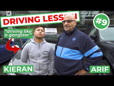 Kieran Gets Confident - How To Reverse A Manual Car | Real Driving Lesson
