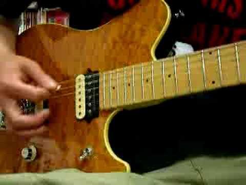 Music Man EVH Eddie Van Halen FAKE  part2