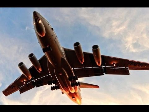 IL-76 most beautiful flight of the planes