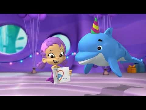 Bubble Guppies for he's a jolly good dolphin