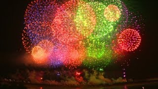 長岡花火大会2012年2日間の総集編 The Nagaoka Fireworks Festival is the most beautiful in japan.