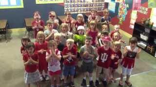 Indiana fight song TPSA kindergarten
