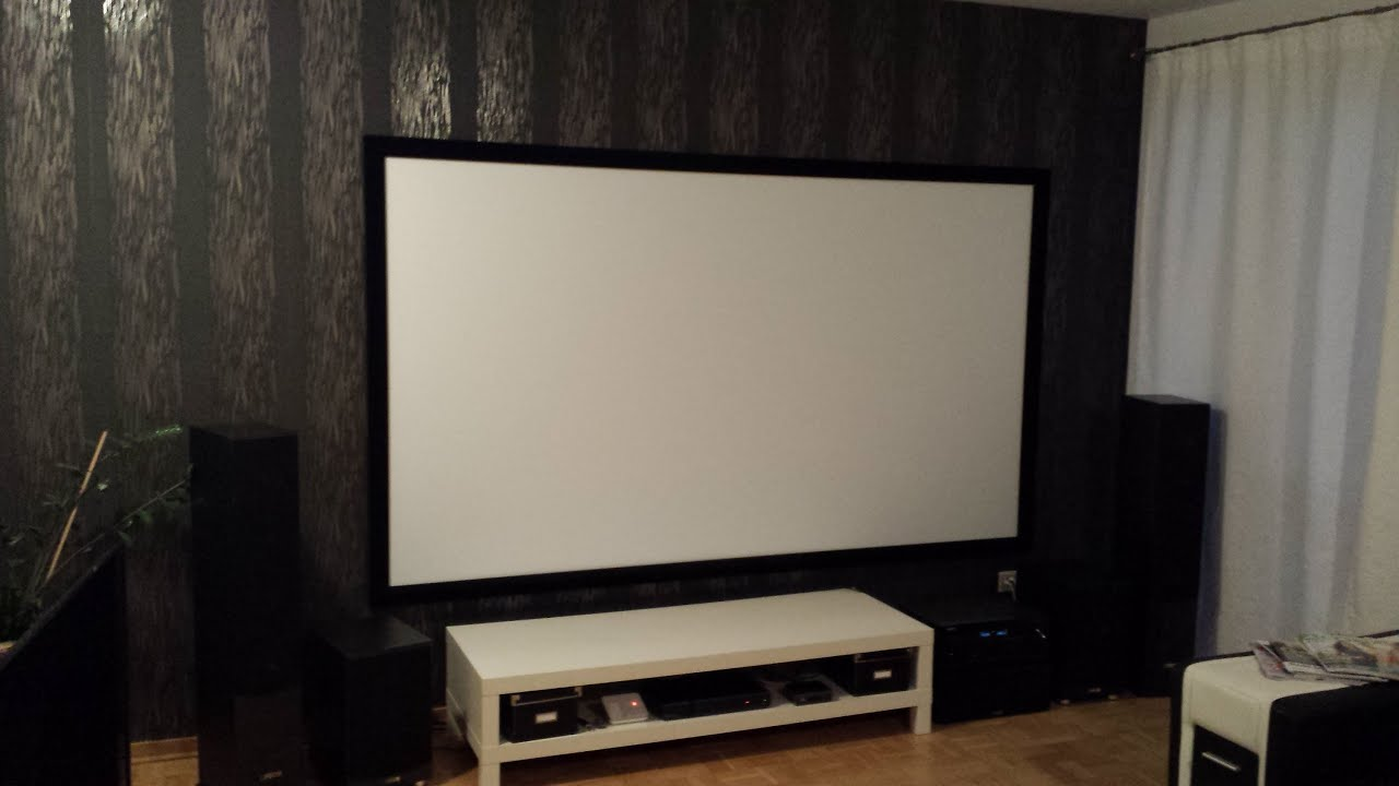 framestar samt 240 rahmenleinwand und epson eh tw6000 test. Black Bedroom Furniture Sets. Home Design Ideas