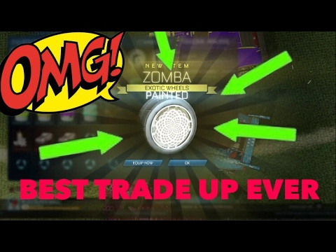 TOP 10 BEST TRADE UP EVER ROCKET LEAGUE COMPILATION**PICKAPIXEL|ZACH PLAYZ|LMG HD|MR TRYHARD SHOW|☘️