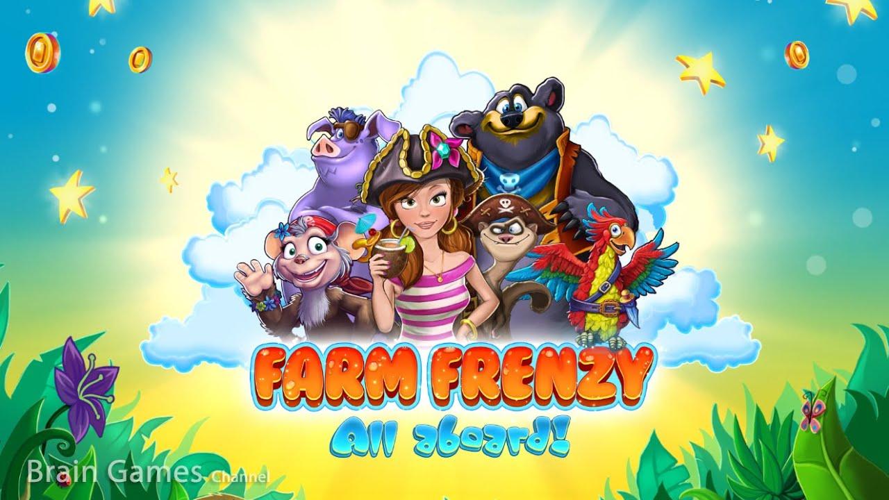 Farm Frenzy: All Aboard Gameplay | HD 720p