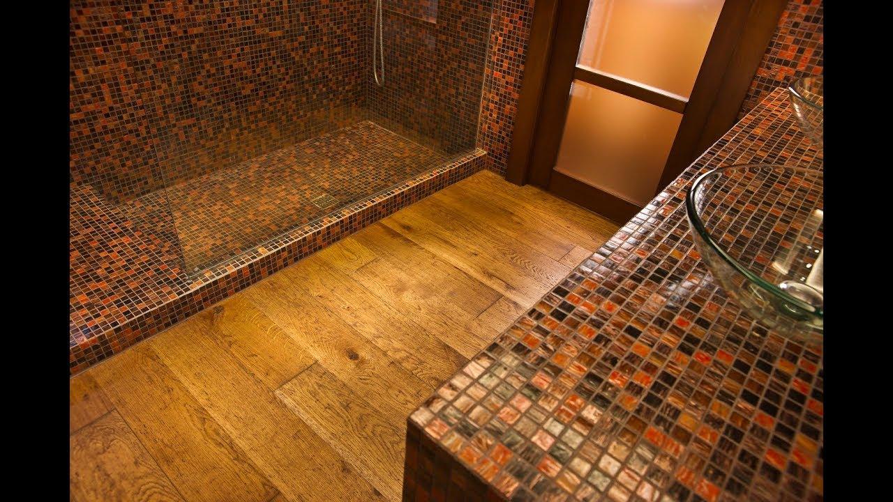 Posso posare il parquet in cucina o in bagno? youtube