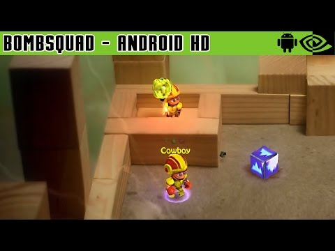 BombSquad - Gameplay Nvidia Shield Tablet Android 1080p (Android Games HD)