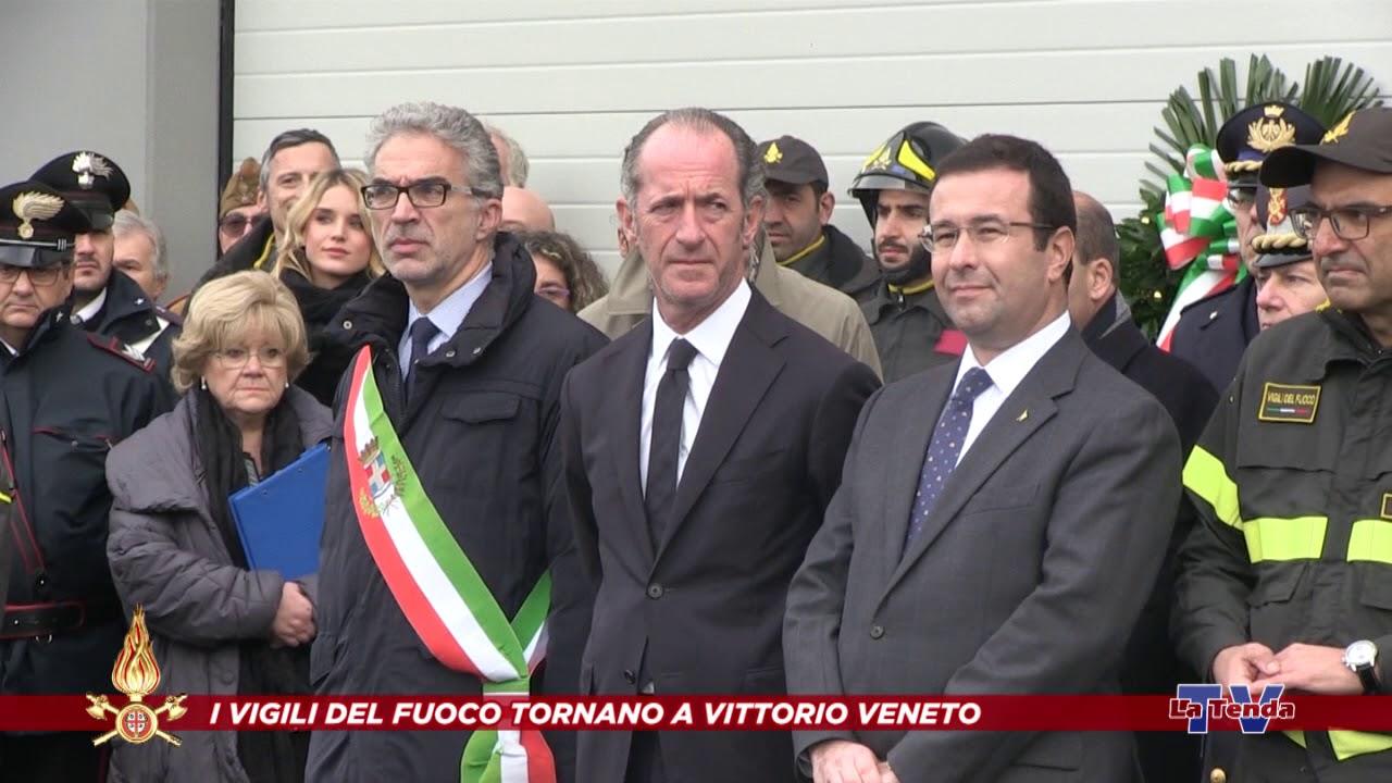 I Vigili del Fuoco tornano a Vittorio Veneto - Inaugurazione Caserma
