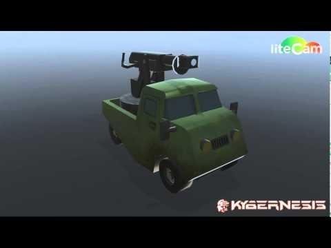 DieselpunkTruck Animations