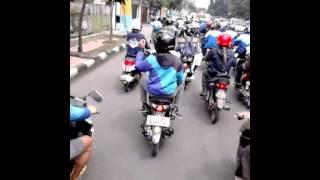 mengantarkan alm reymond hutapea ( bang reymond ) ketua dewan penasehat XTC Indonesia