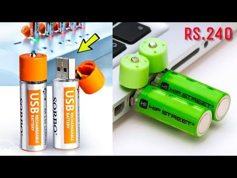 5 AMAZING ELECTRONIC GADGETS INVENTION ▶ USB Charger Battery You Can Buy in Online Store