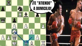 "🥊 ""ROCKY BALBOA"" NOQUEA A ""IVÁN DRAGO"": Shankland vs Svidler (Copa del Mundo FIDE)"