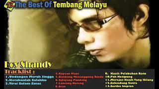 Gambar cover Boy Shandy The Best Of Tembang Melayu – Terpopuler Th 90an