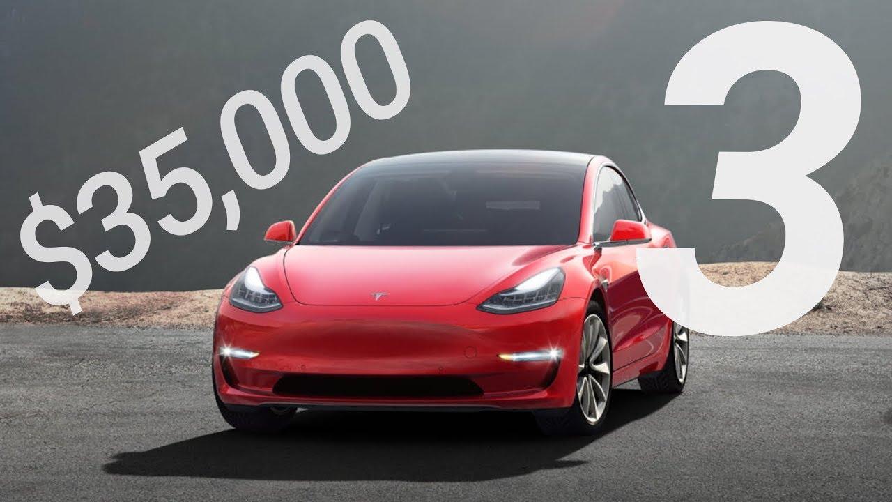$35K Tesla Model 3 Released! Should You Buy? - YouTube