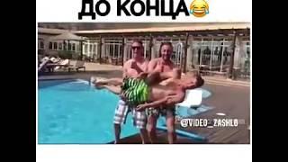 Рыбалка в бассейне или нескучные люди))