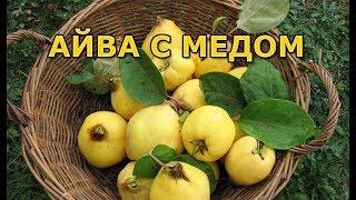 Варенье из айвы с медом и орехами, оригинально и полезно
